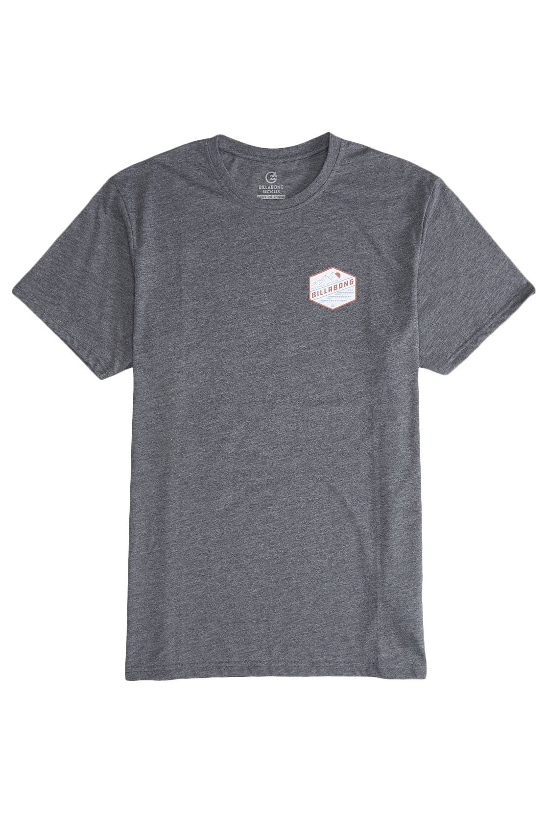 T-Shirt Billabong RIDGE SS TEE ADVENTURE DIVISION Dark Grey Heath