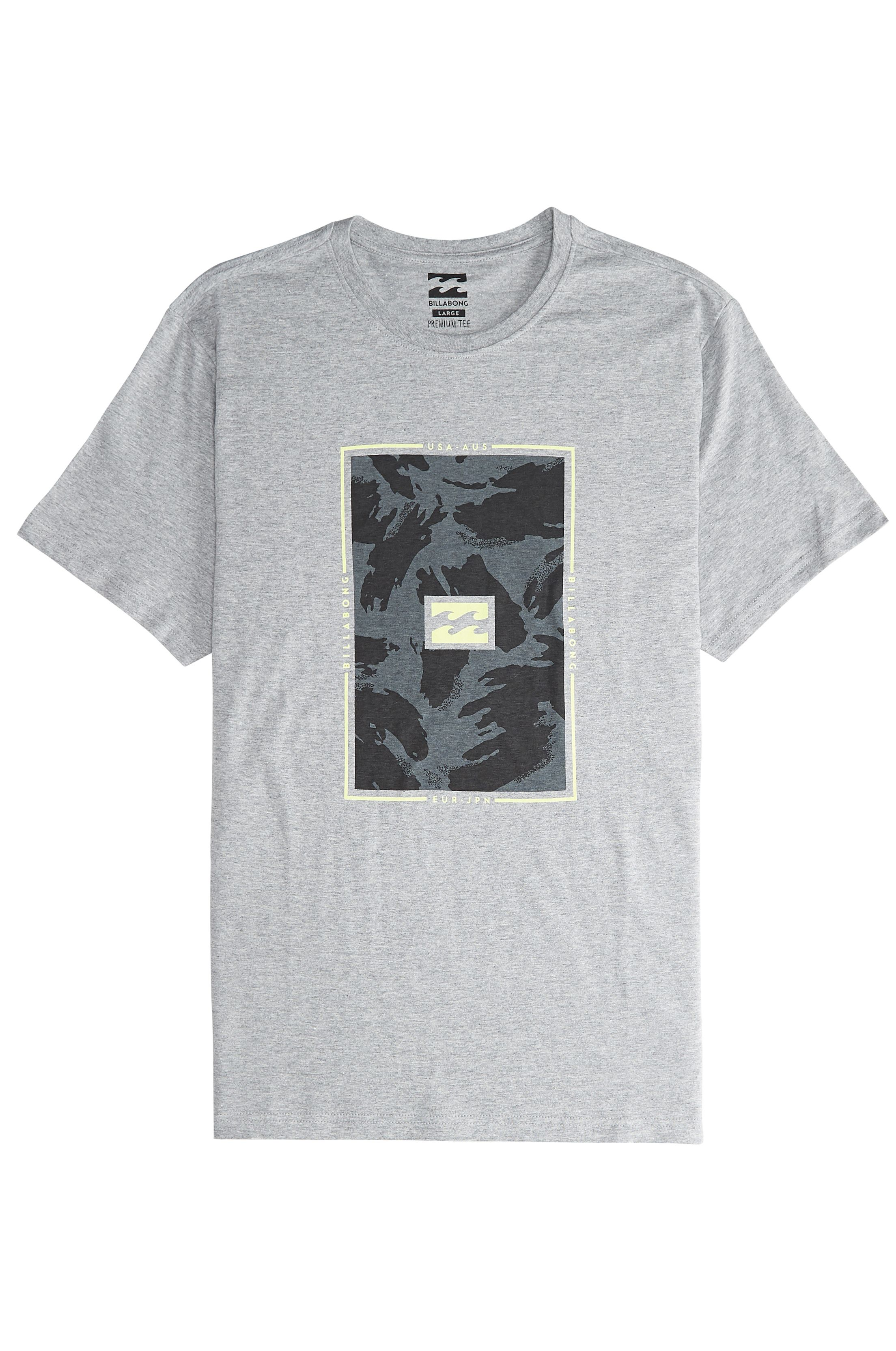 T-Shirt Billabong TUCKED Grey Heather