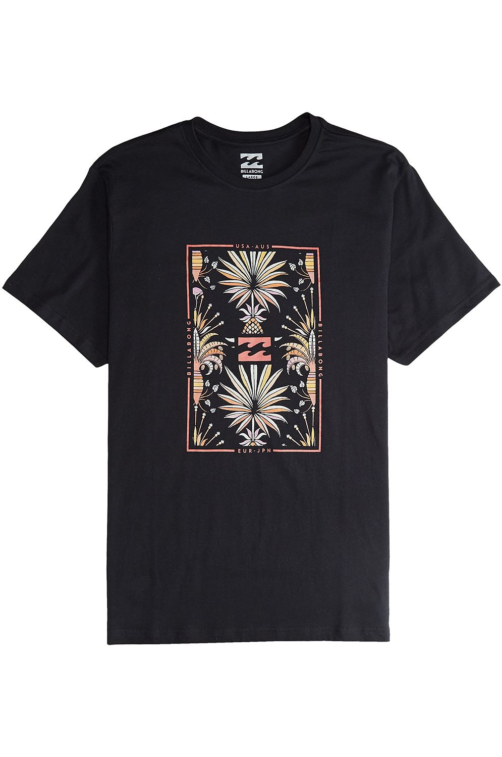 T-Shirt Billabong TUCKED Black