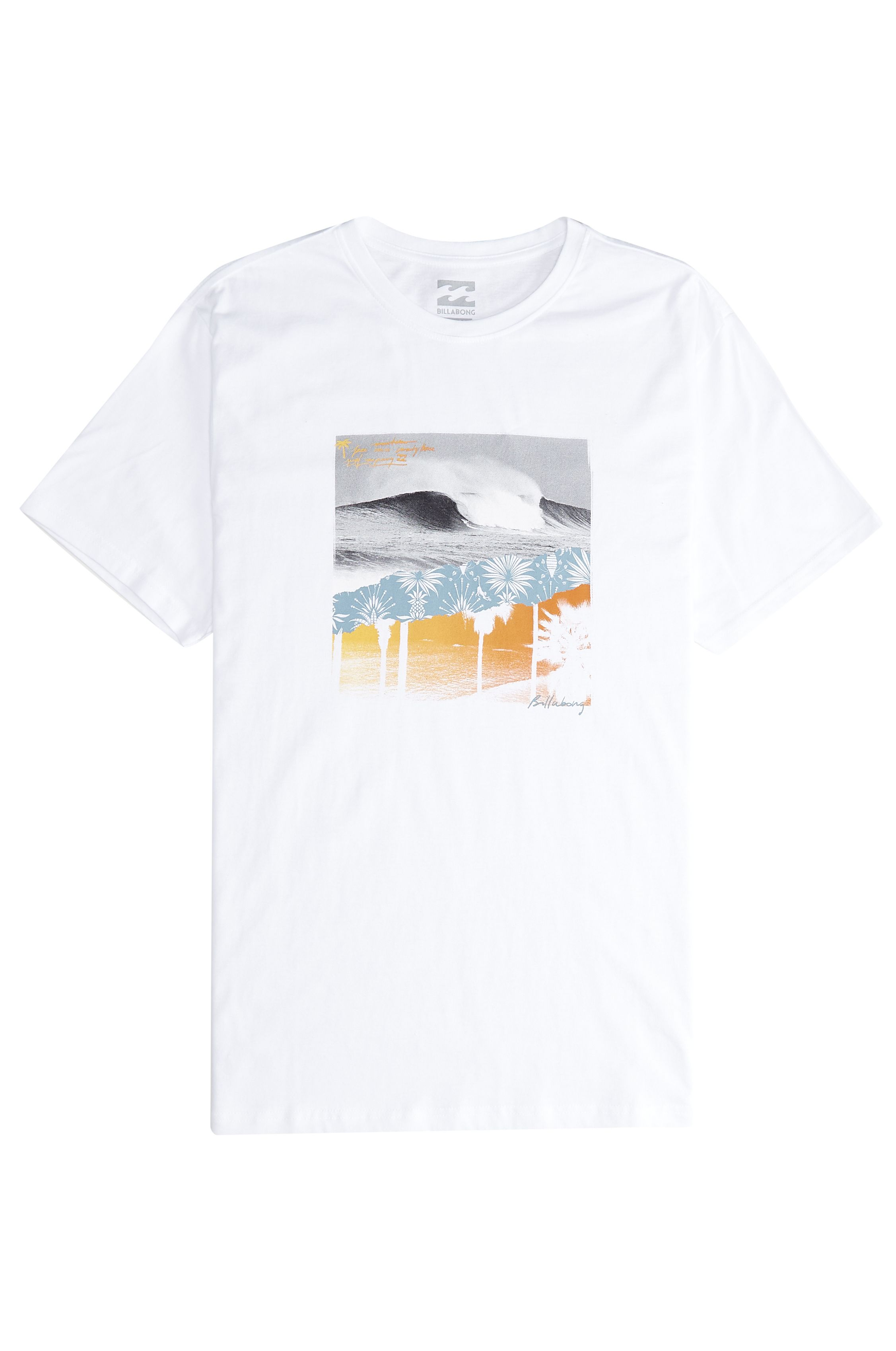 T-Shirt Billabong STEP BACK White