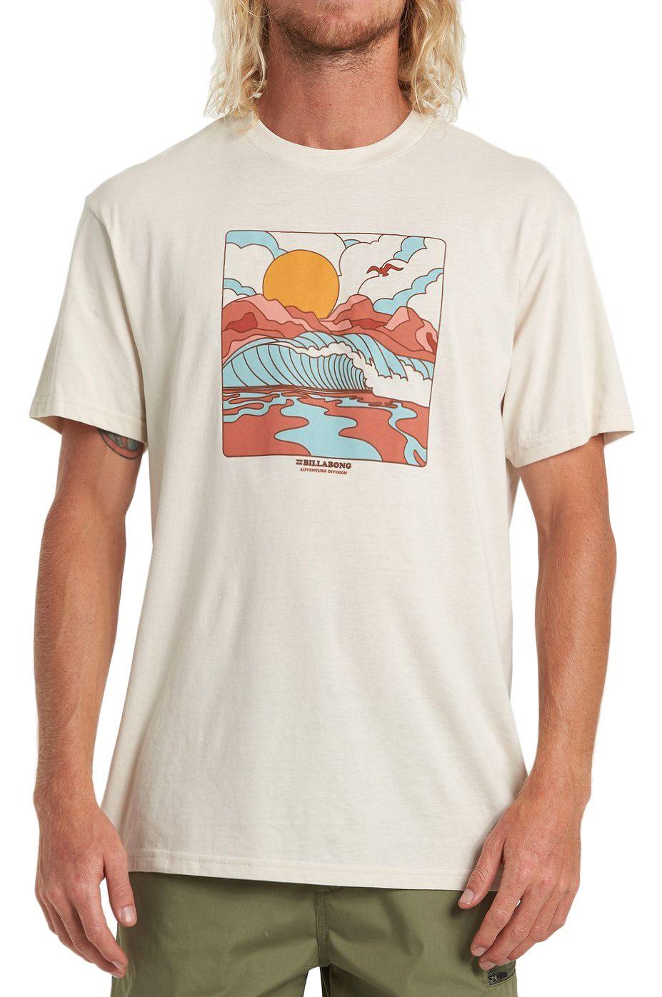 Billabong T-Shirt DRAINER TEE SS ADVENTURE DIVISION Vapor