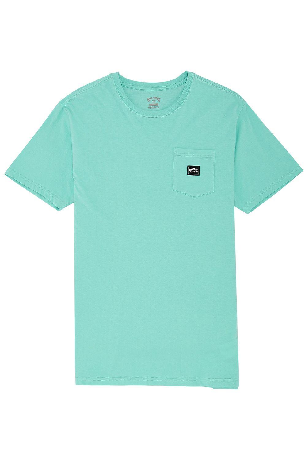 T-Shirt Billabong STACKED Light Aqua