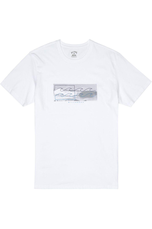 T-Shirt Billabong INVERSE White