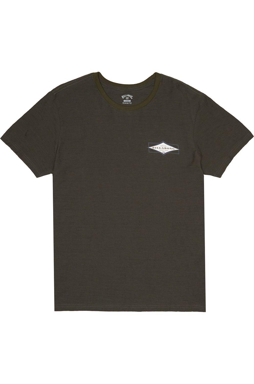 T-Shirt Billabong DIAMOND SHAPER Military