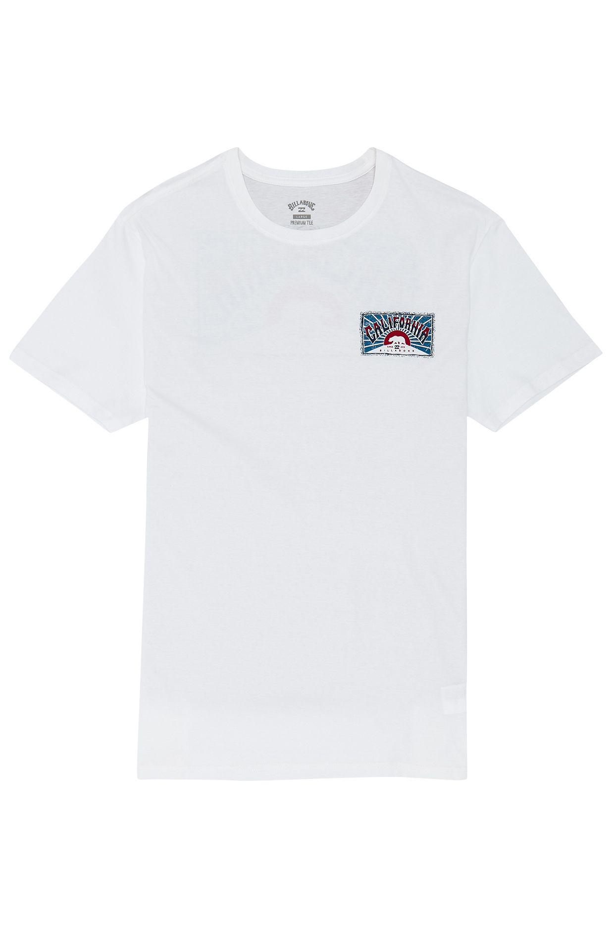 T-Shirt Billabong DREAMY PLACE White/Blue