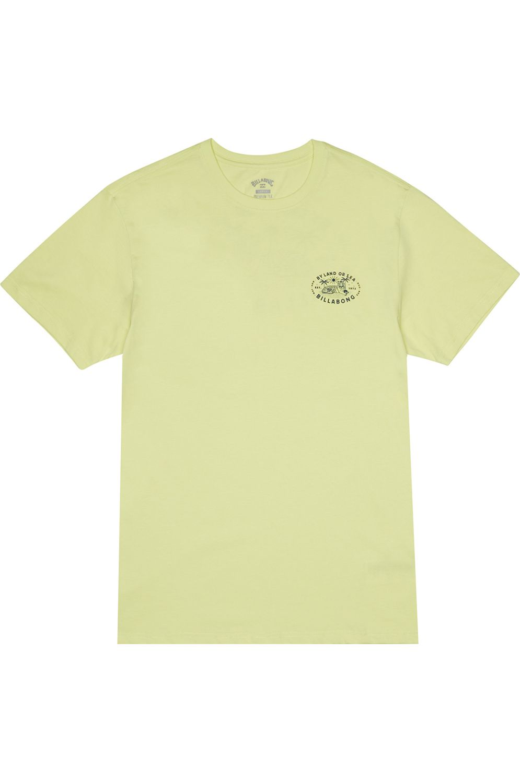 T-Shirt Billabong TIGER ISLAND Neo Lemon