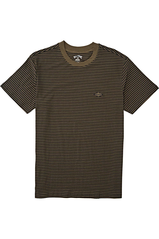 T-Shirt Billabong DIE CUT STP CREW Military