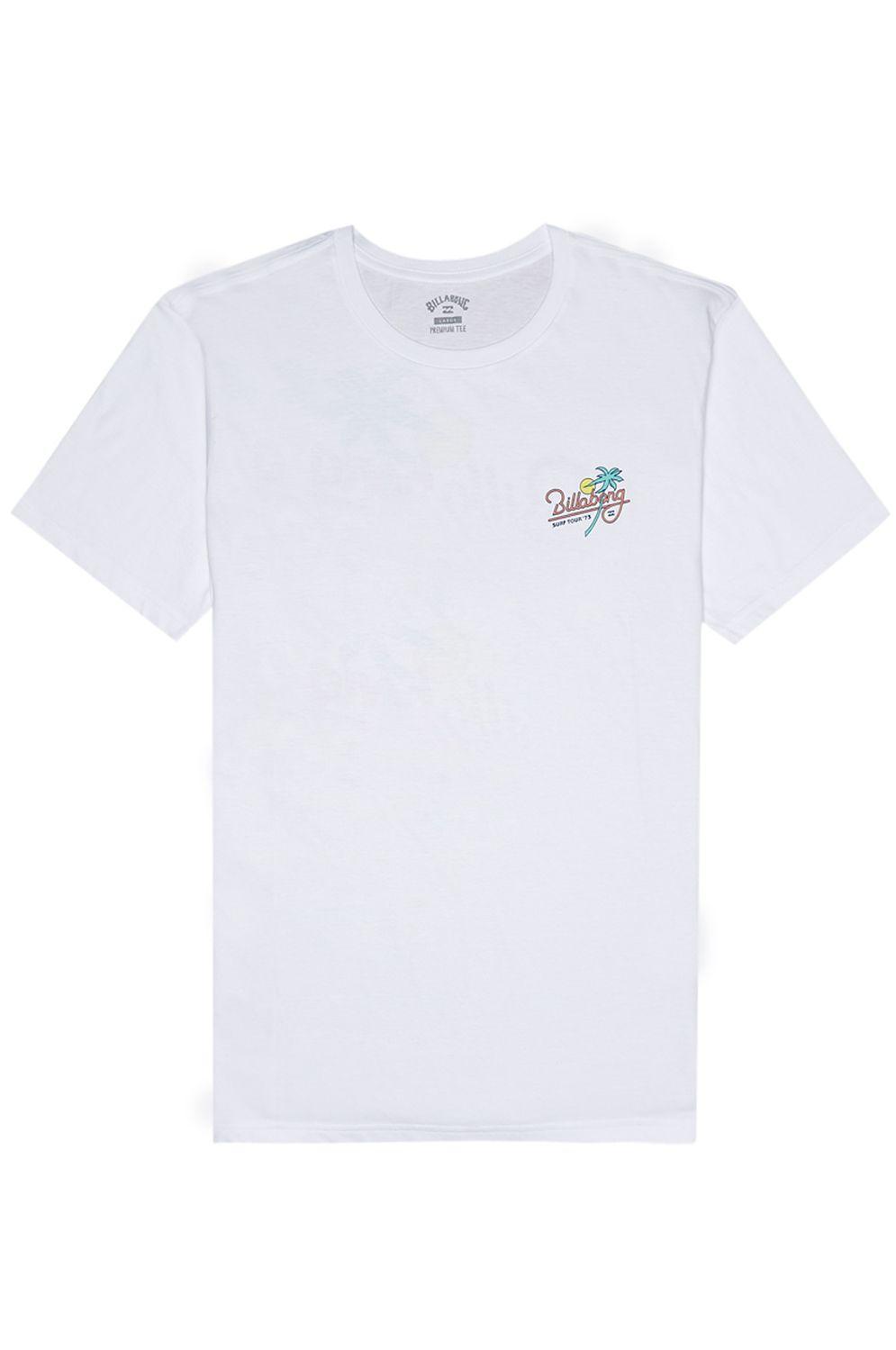 T-Shirt Billabong SURF TOUR White