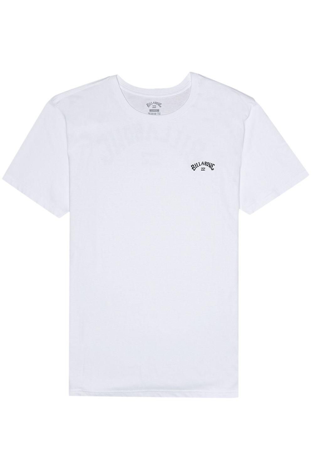 T-Shirt Billabong ARCH WAVE White