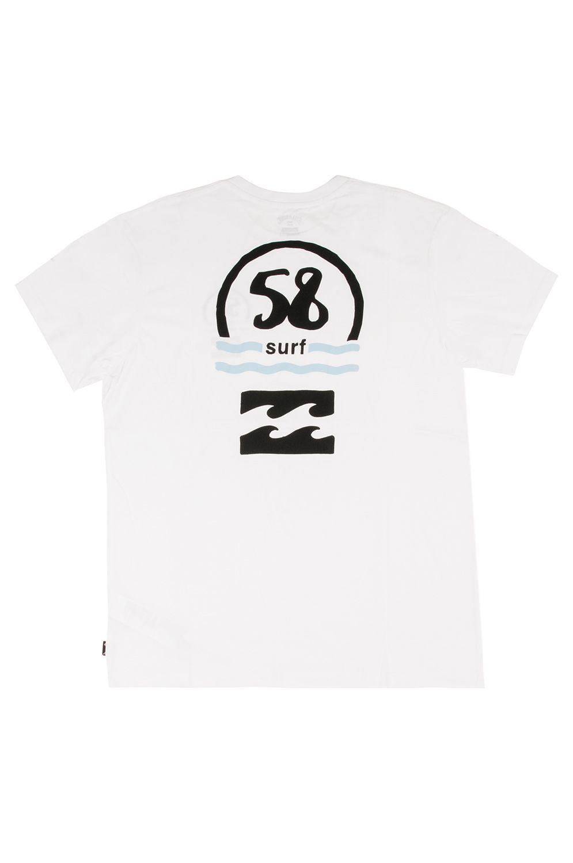 Billabong T-Shirt 58 SURF DESTINATION White