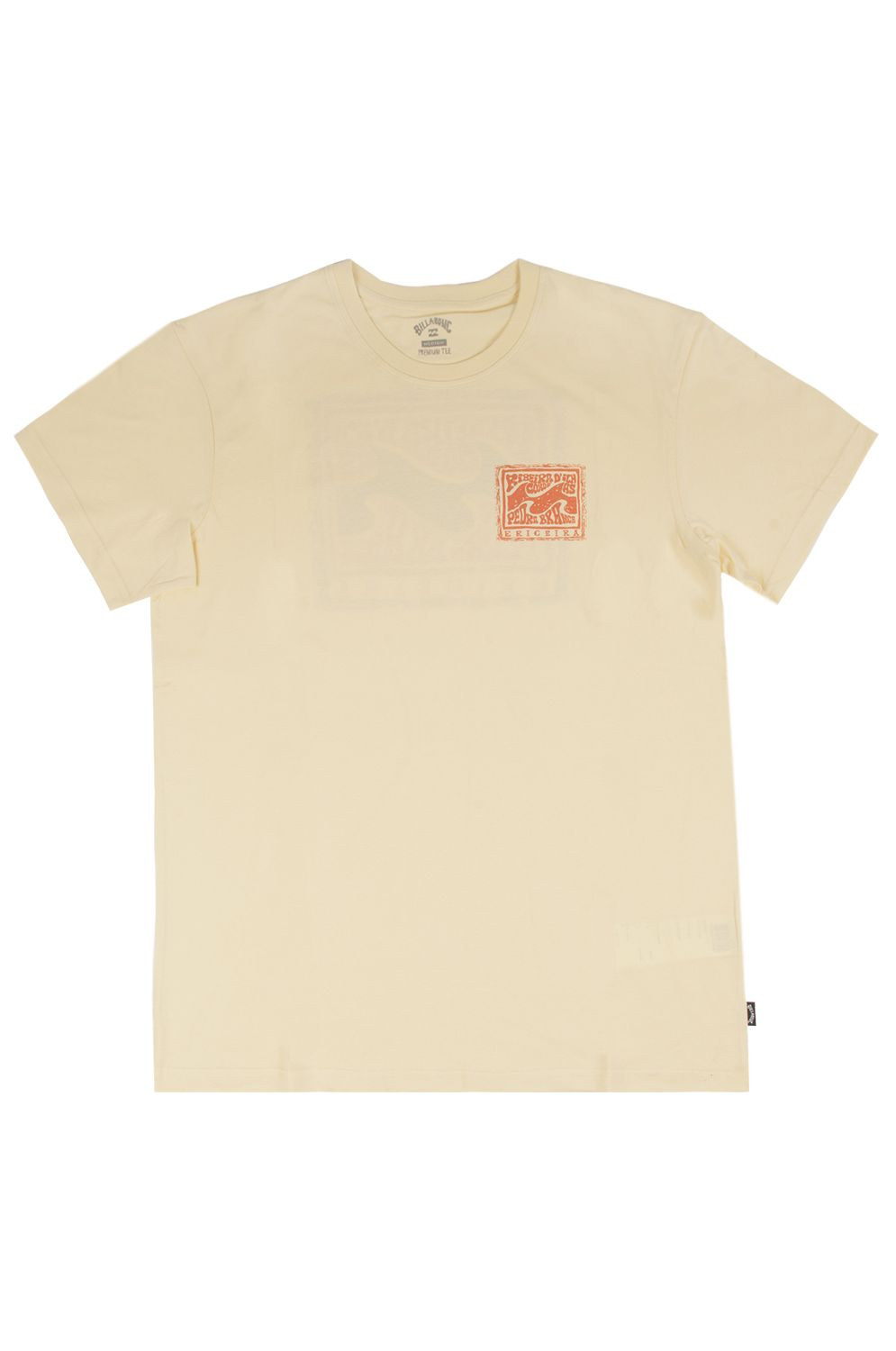 T-Shirt Billabong ERICEIRA SPOTS DESTINATION Mellow Yellow