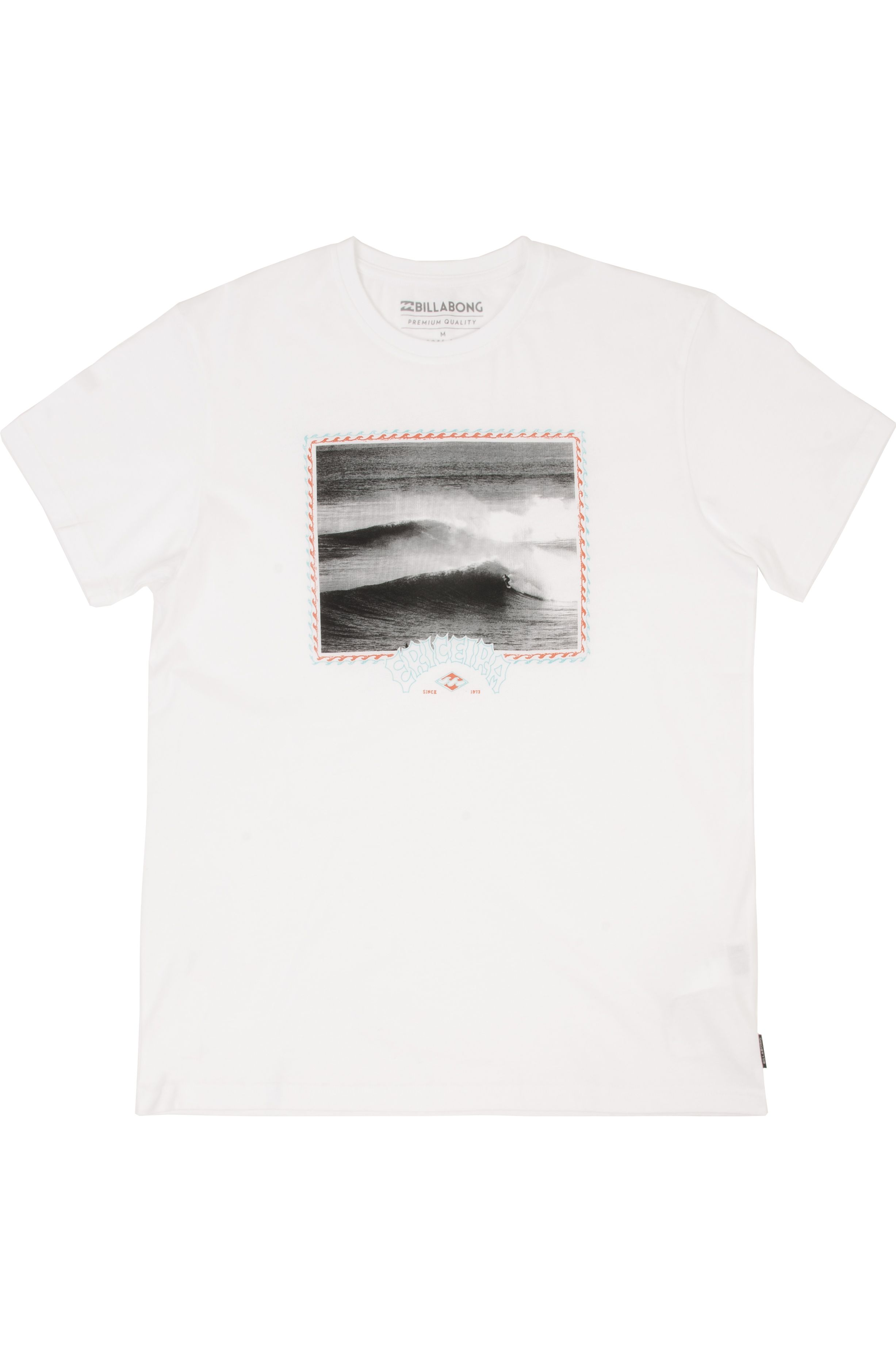 T-Shirt Billabong ERICEIRA WAVE DESTINATION White