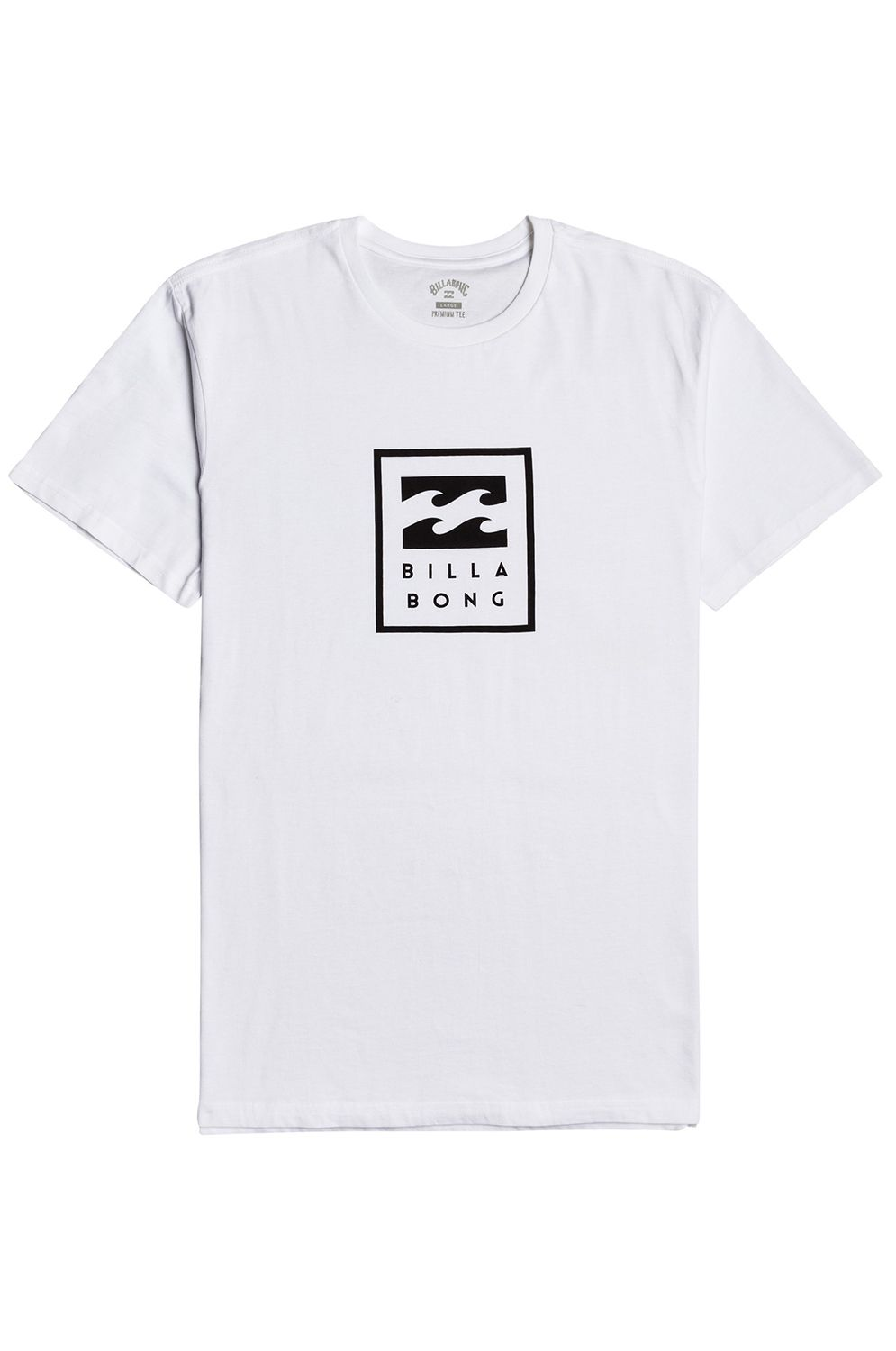 T-Shirt Billabong UNITY STACKED SS White