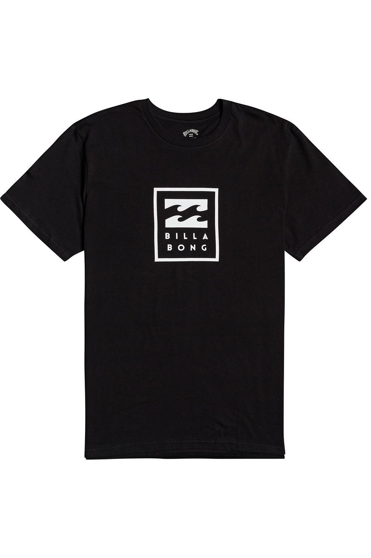 Billabong T-Shirt UNITY STACKED SS Black