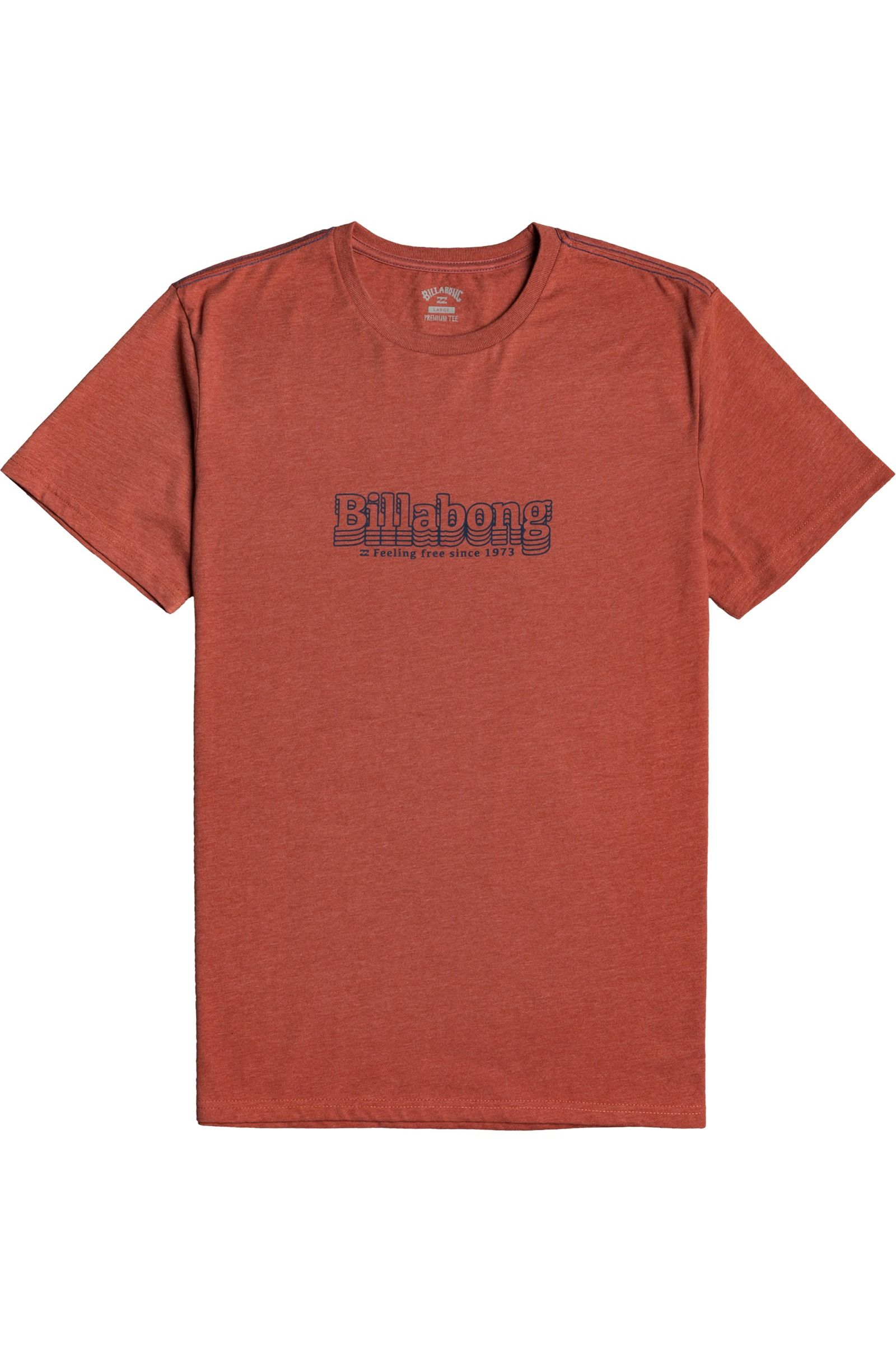 T-Shirt Billabong CAPTURE SS Deep Red