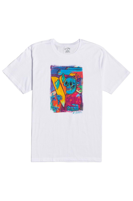 T-Shirt Billabong CUBES SS White