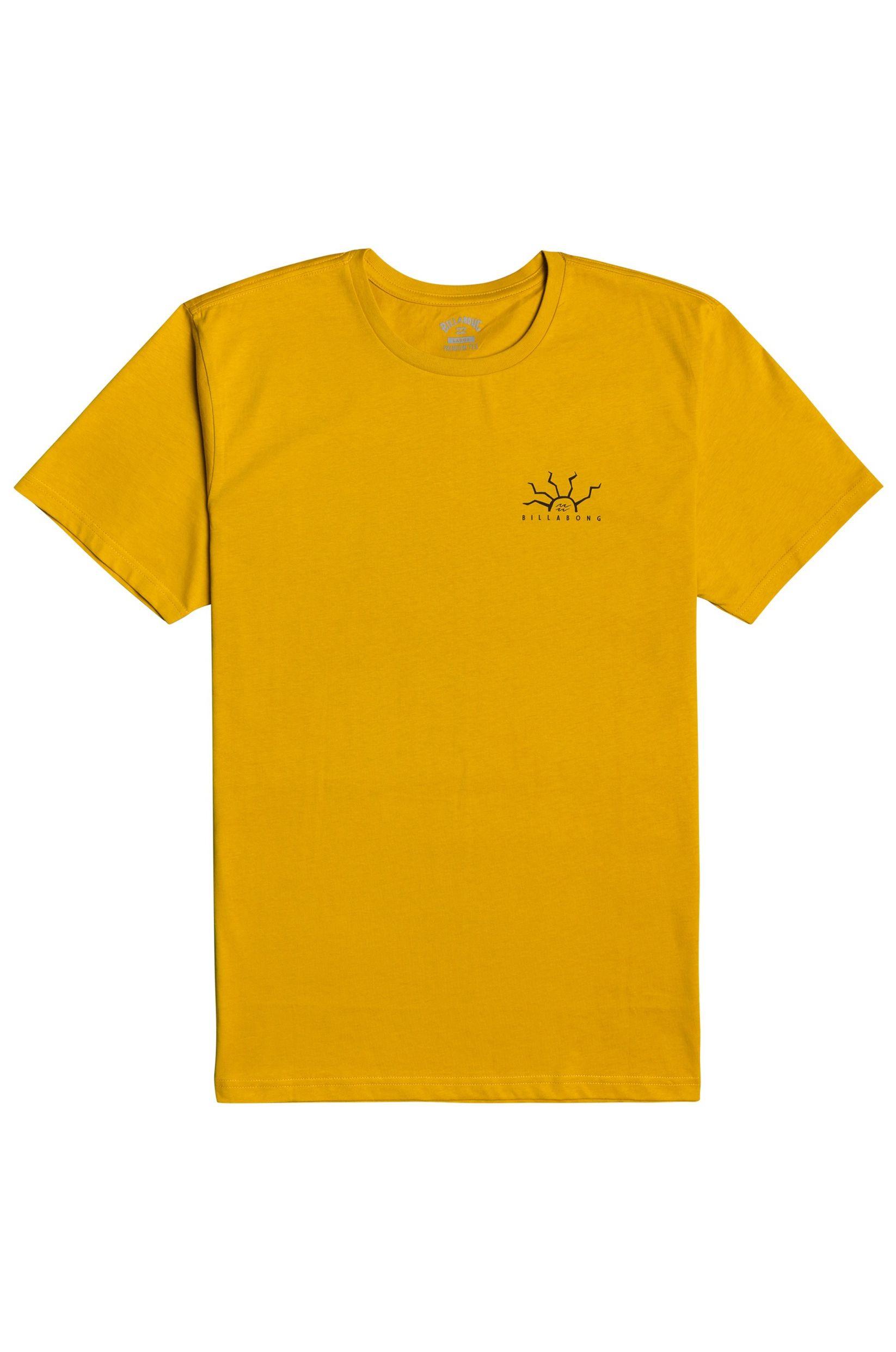 Billabong T-Shirt PELIGROSA EXPRESSION SESSION Mustard