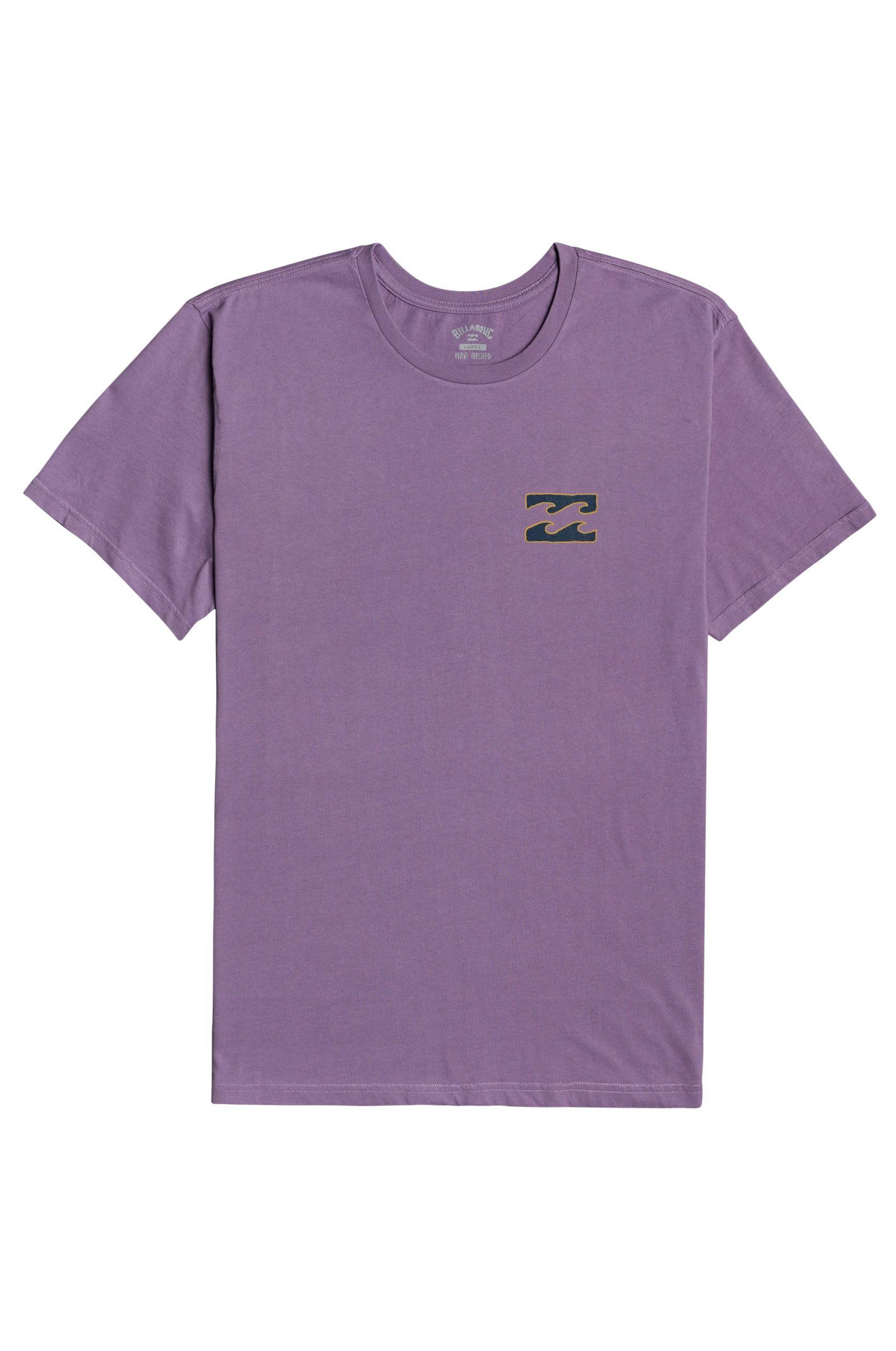 T-Shirt Billabong CRAYON WAVE SS Purple Haze