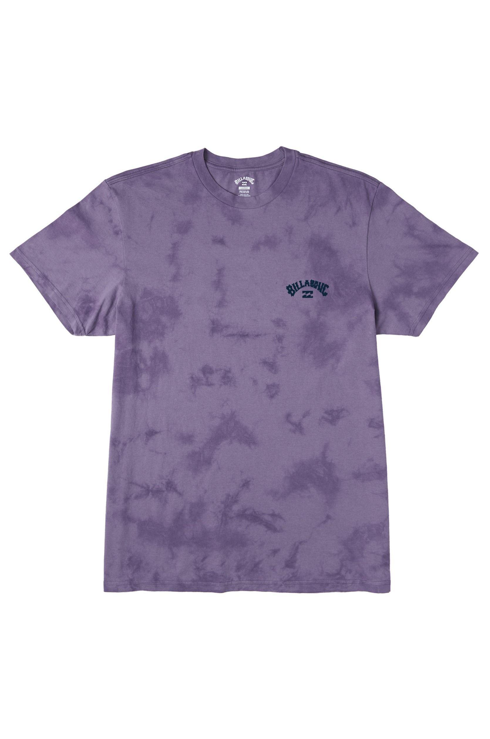 Billabong T-Shirt ARCH WAVE TIE DYE Purple Haze