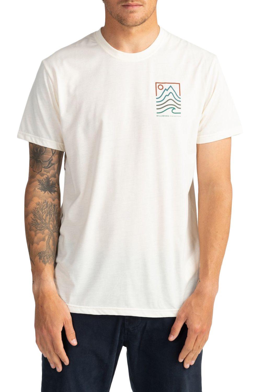 T-Shirt Billabong PEAK SS ADVENTURE DIVISION Off White