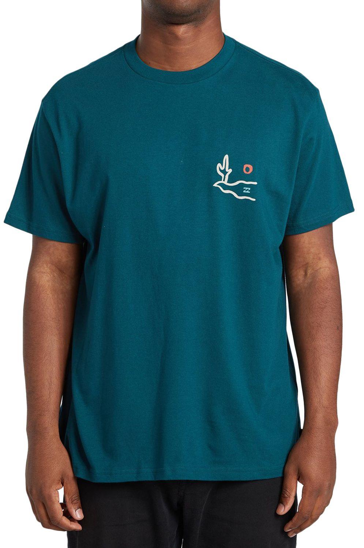 T-Shirt Billabong SIDEWINDER SS ADVENTURE DIVISION Deep Teal
