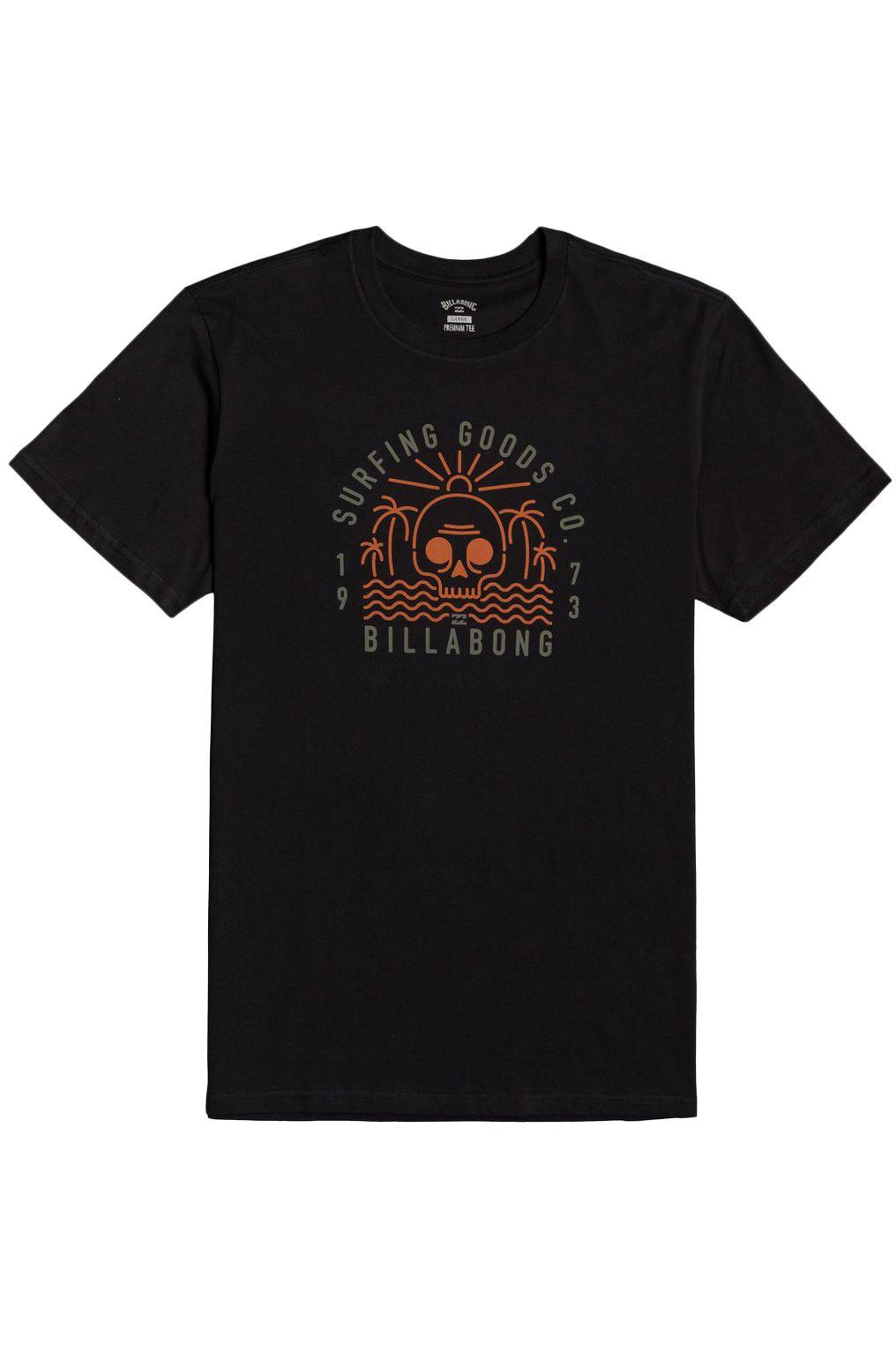 Billabong T-Shirt ROAD END SS Black