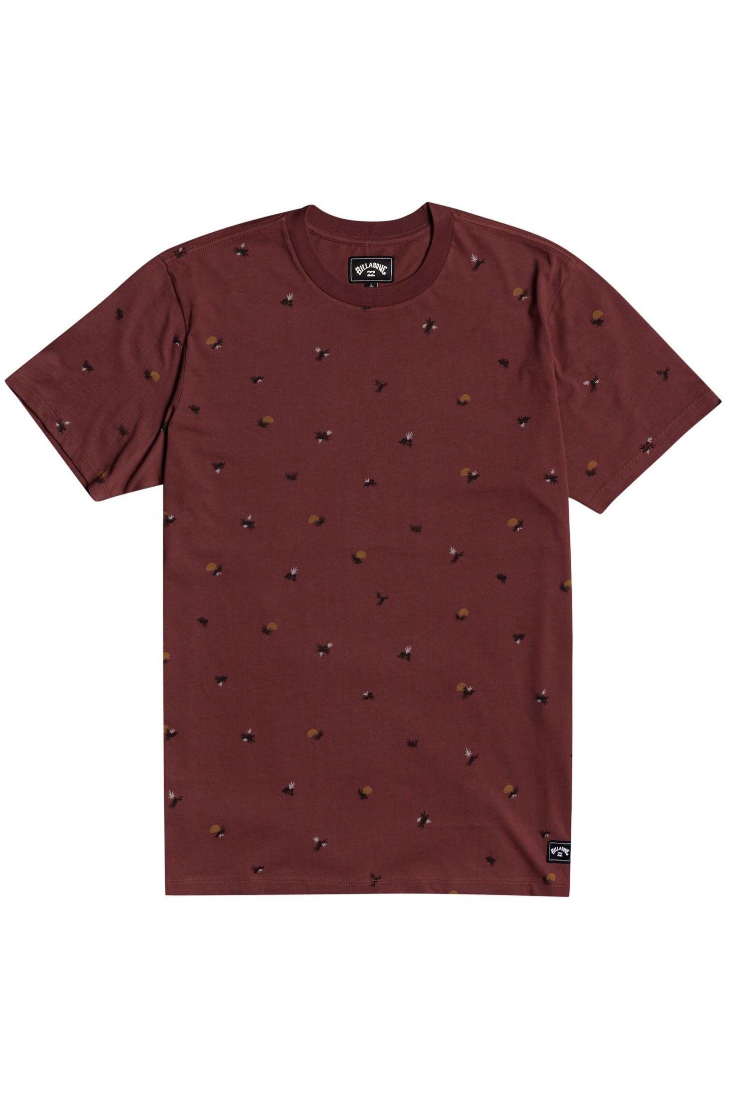 T-Shirt Billabong SUNDAYS SS Oxblood
