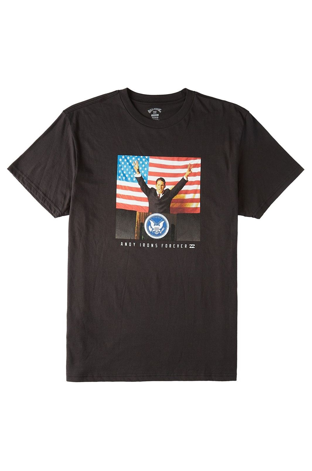 T-Shirt Billabong AI FOR PRESIDENT SS AI FOREVER Black