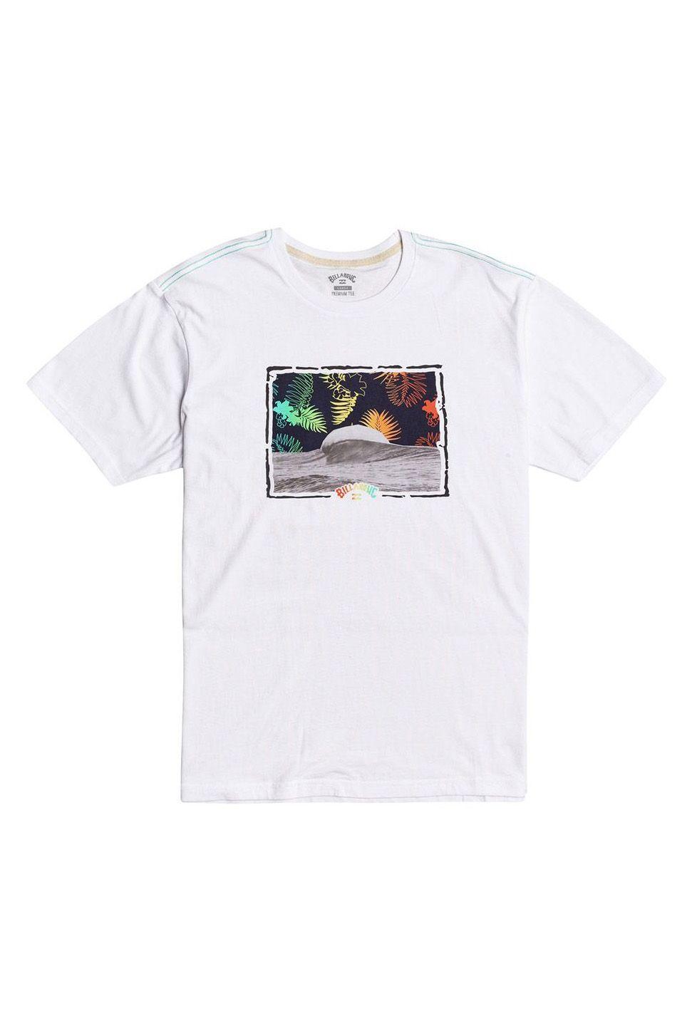 T-Shirt Billabong ALOHA SS SPORTING GOOD PROGR. White