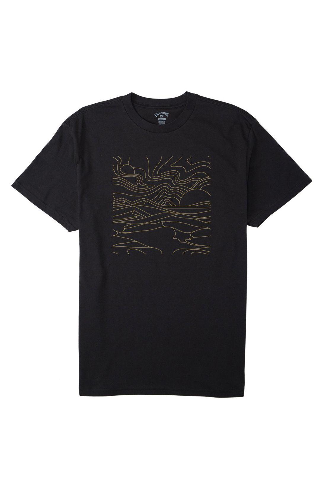 T-Shirt Billabong LINES SS ADVENTURE DIVISION Black