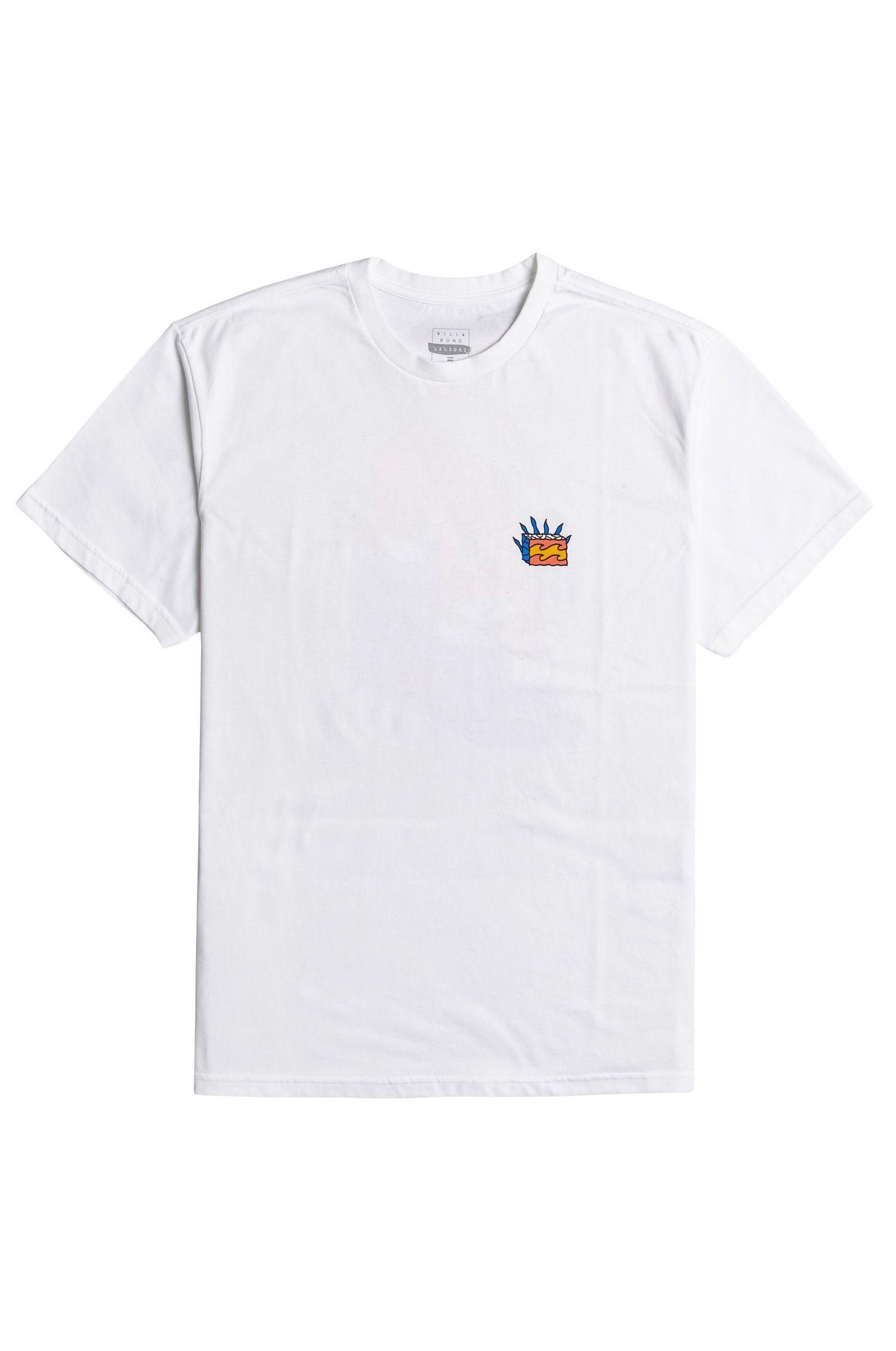 Billabong T-Shirt STAIRWAY SS GALLERY White