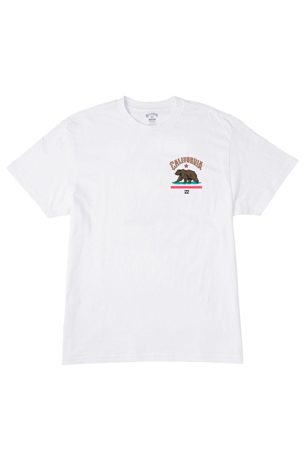 T-Shirt Billabong ARCH CA SS White