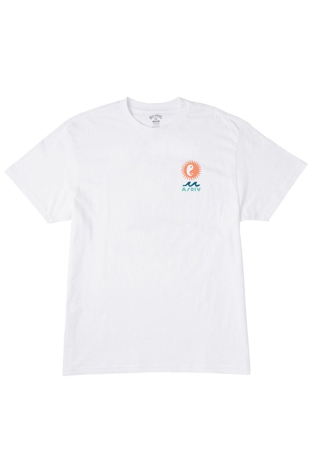 T-Shirt Billabong WONDERS SS ADVENTURE DIVISION White