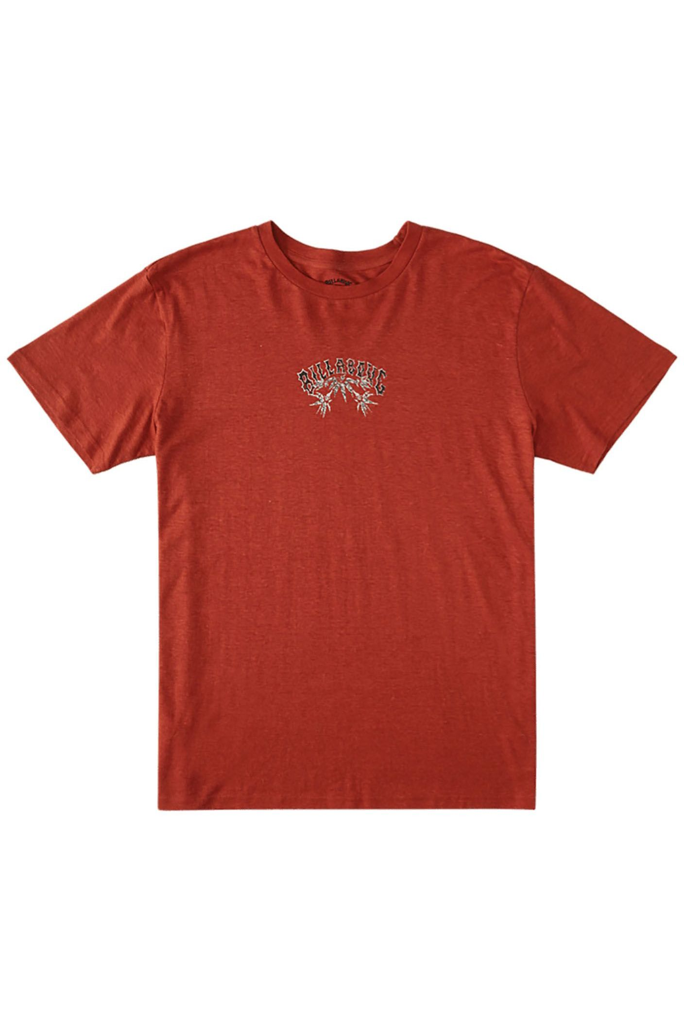 Billabong T-Shirt ARCH HEMP TEE ADVENTURE DIVISION Auburn