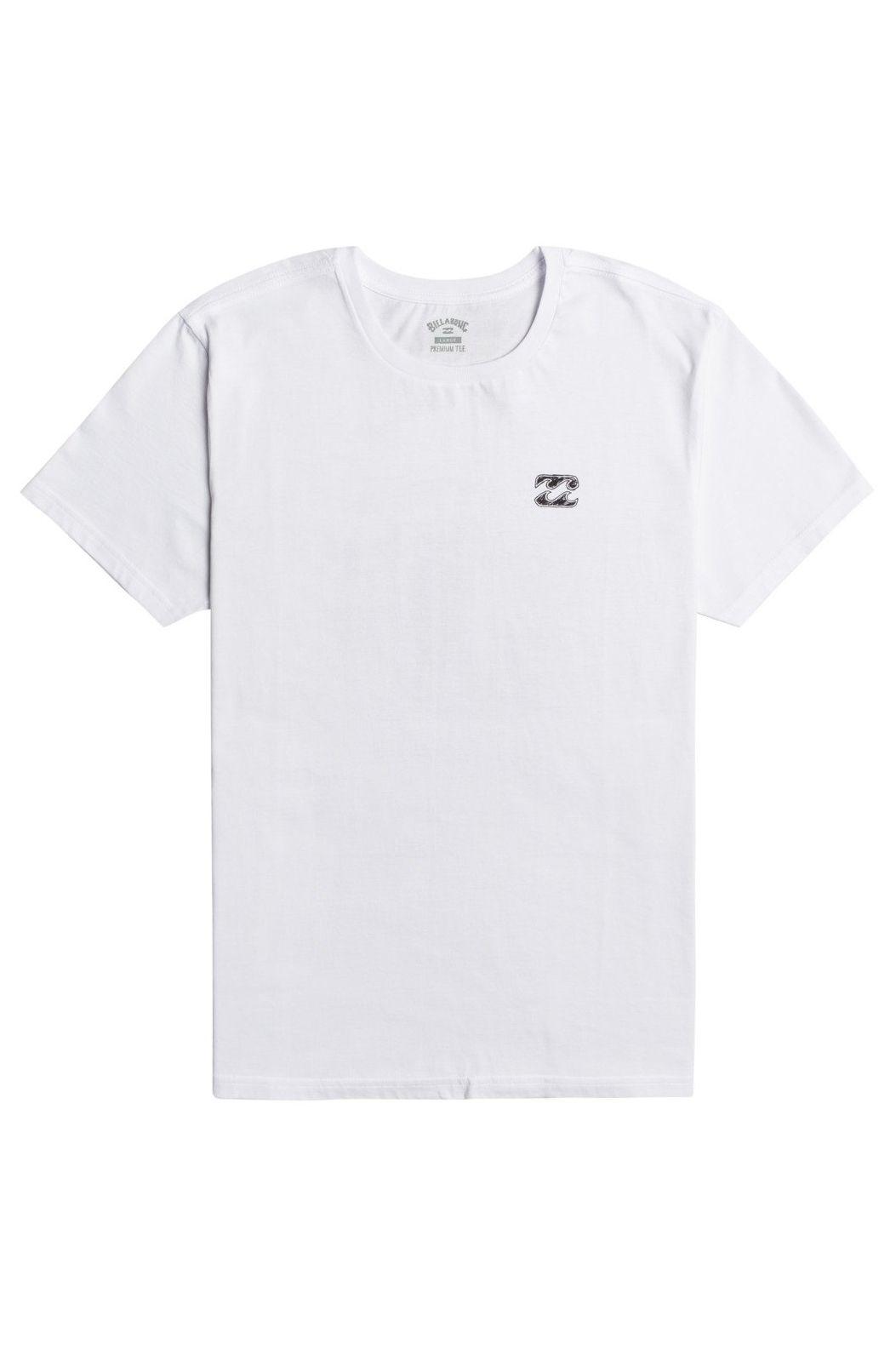 T-Shirt Billabong SURFREPORT SS White