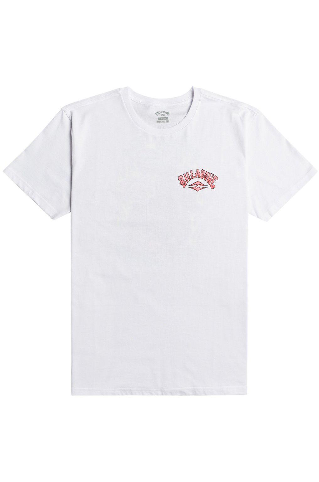 Billabong T-Shirt TIGER WAVES SS White
