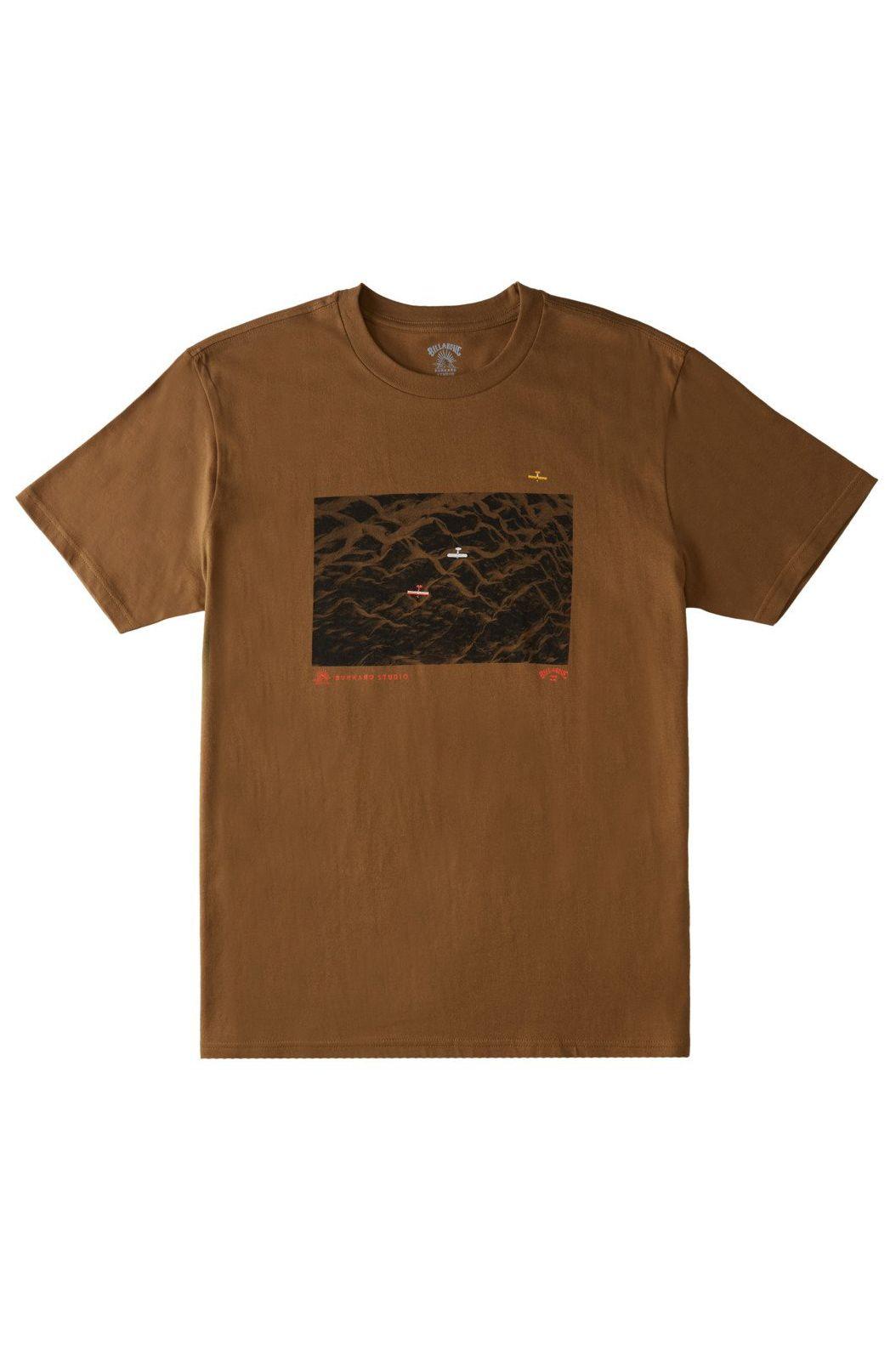 Billabong T-Shirt GLACIER RUNOFF AERIA ADIV / CHRIS BURKARD Bison