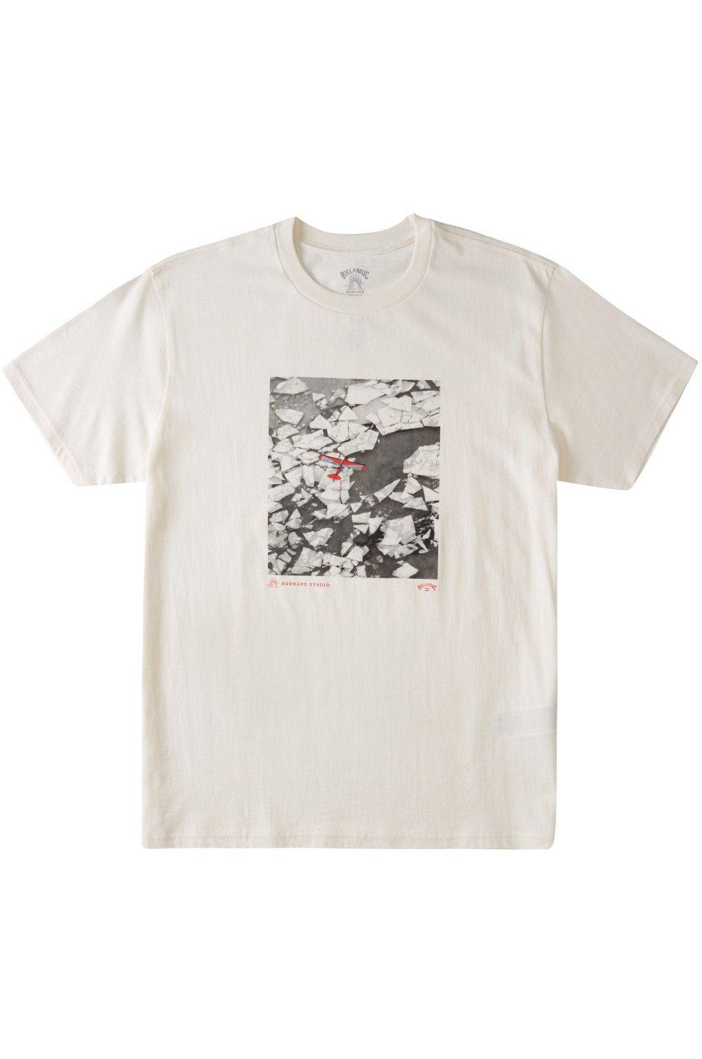 Billabong T-Shirt ICEBURG AERIAL SS ADIV / CHRIS BURKARD Snow