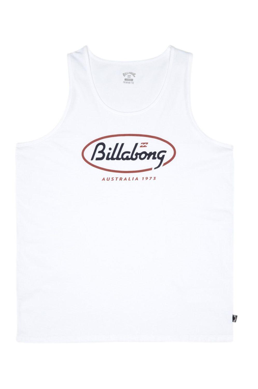 Billabong T-Shirt Tank Top STATE BEACH White