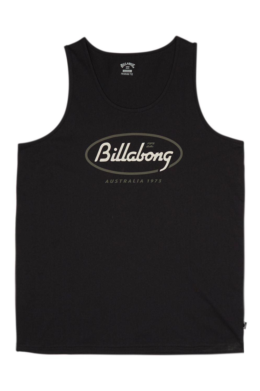 Billabong T-Shirt Tank Top STATE BEACH Black
