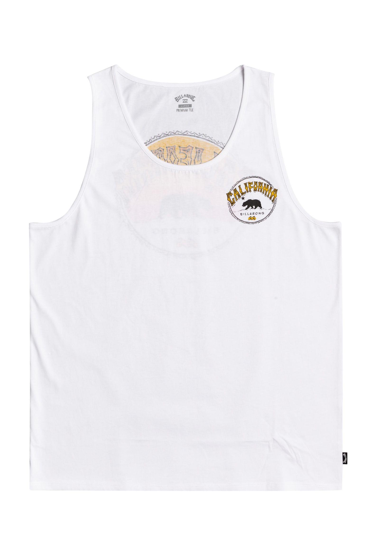 Billabong T-Shirt Tank Top DREAMY PLACES TANK White
