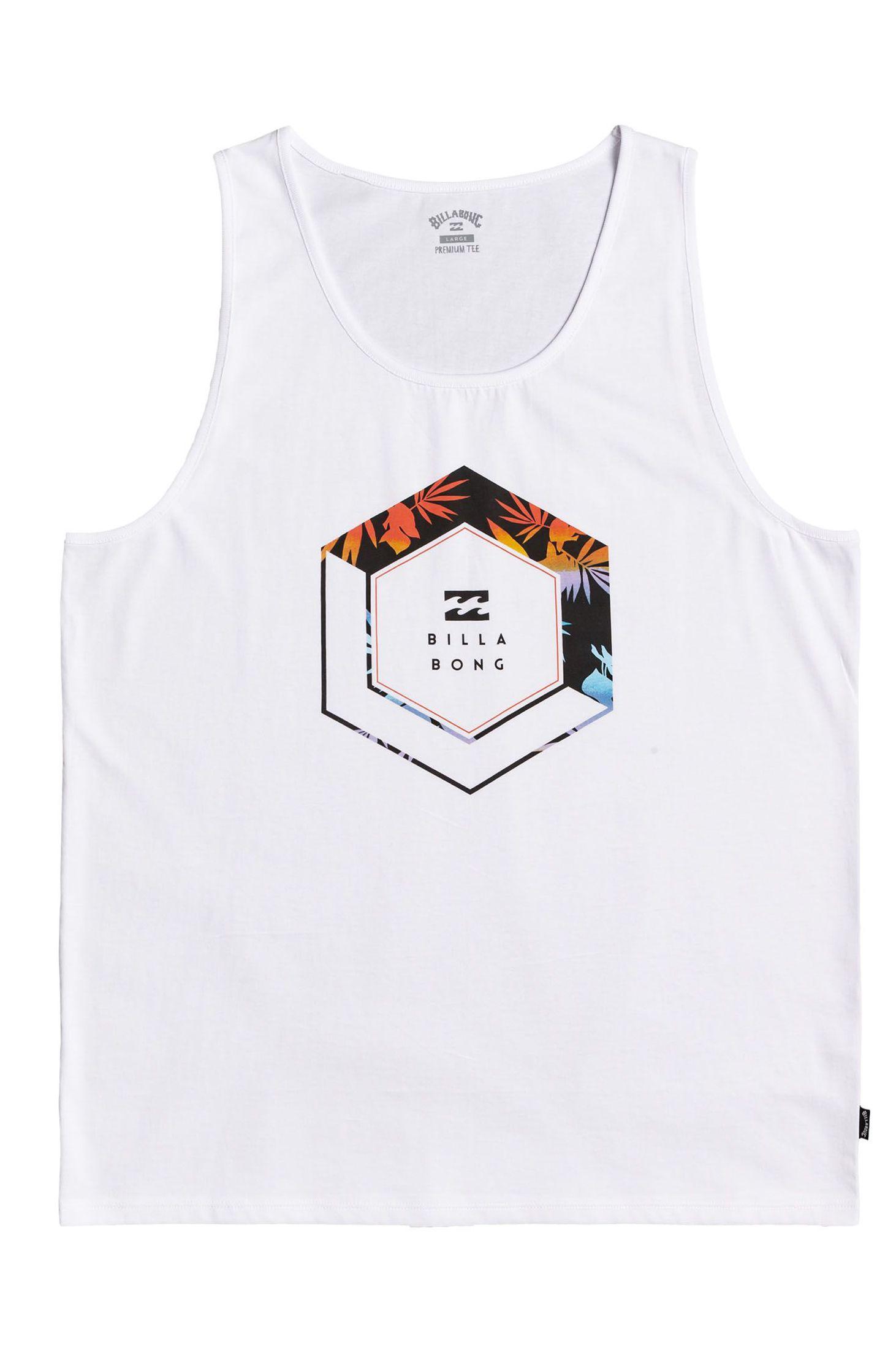 Billabong T-Shirt Tank Top ACCESS TANK White