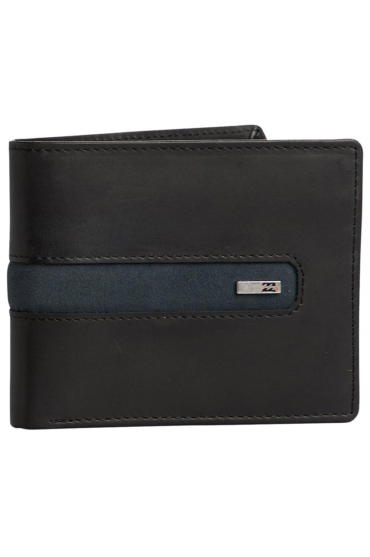 Billabong Leather Wallet DBAH LEATHER Black