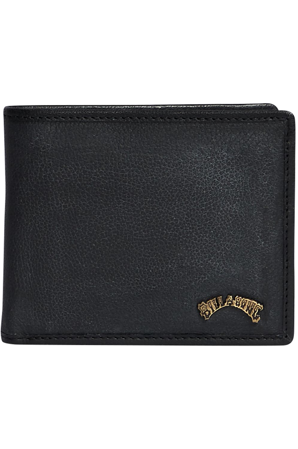 Billabong Leather Wallet ARCH ID LEATHER Black