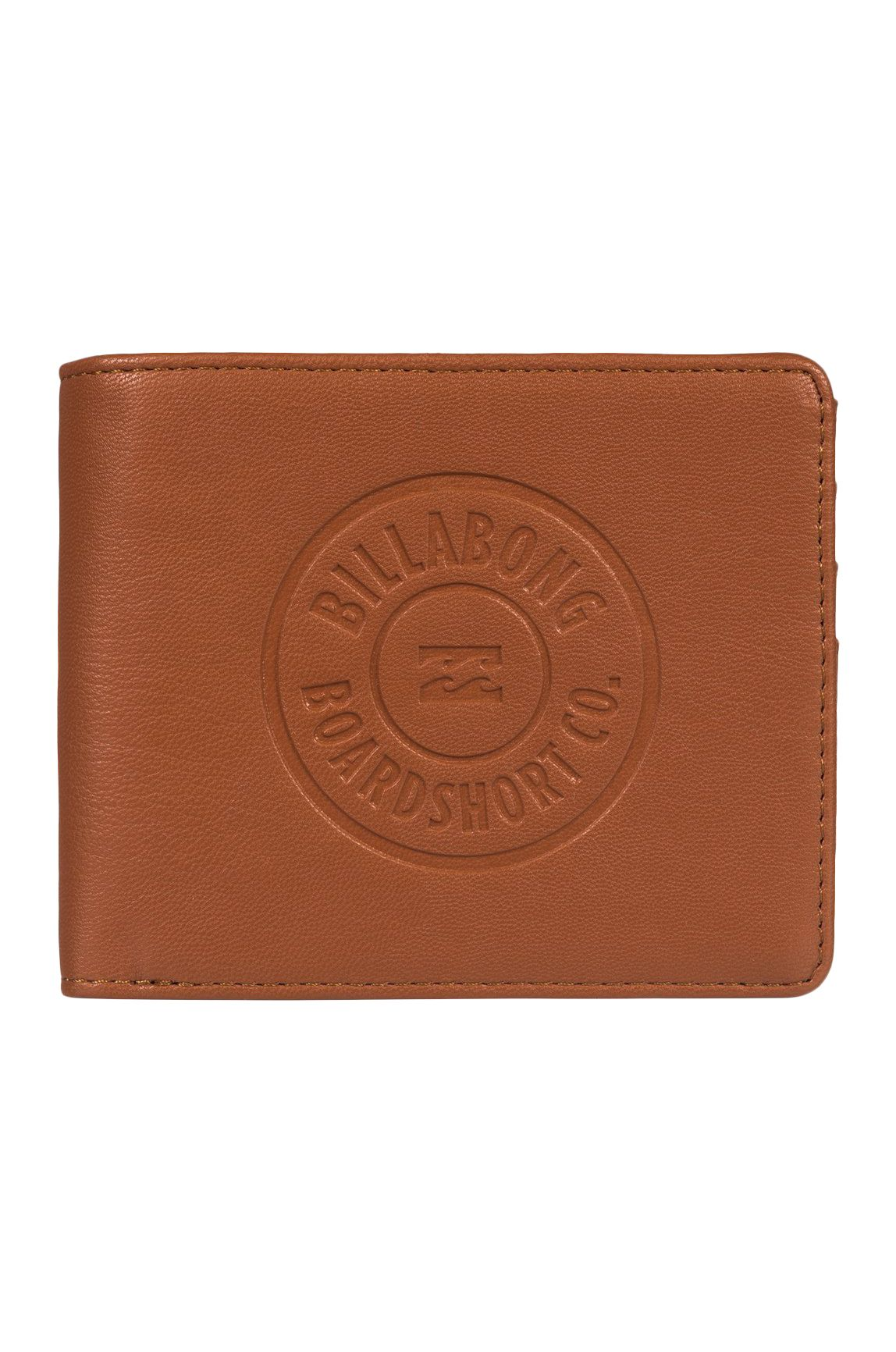 Carteira Billabong WALLED ID Tan