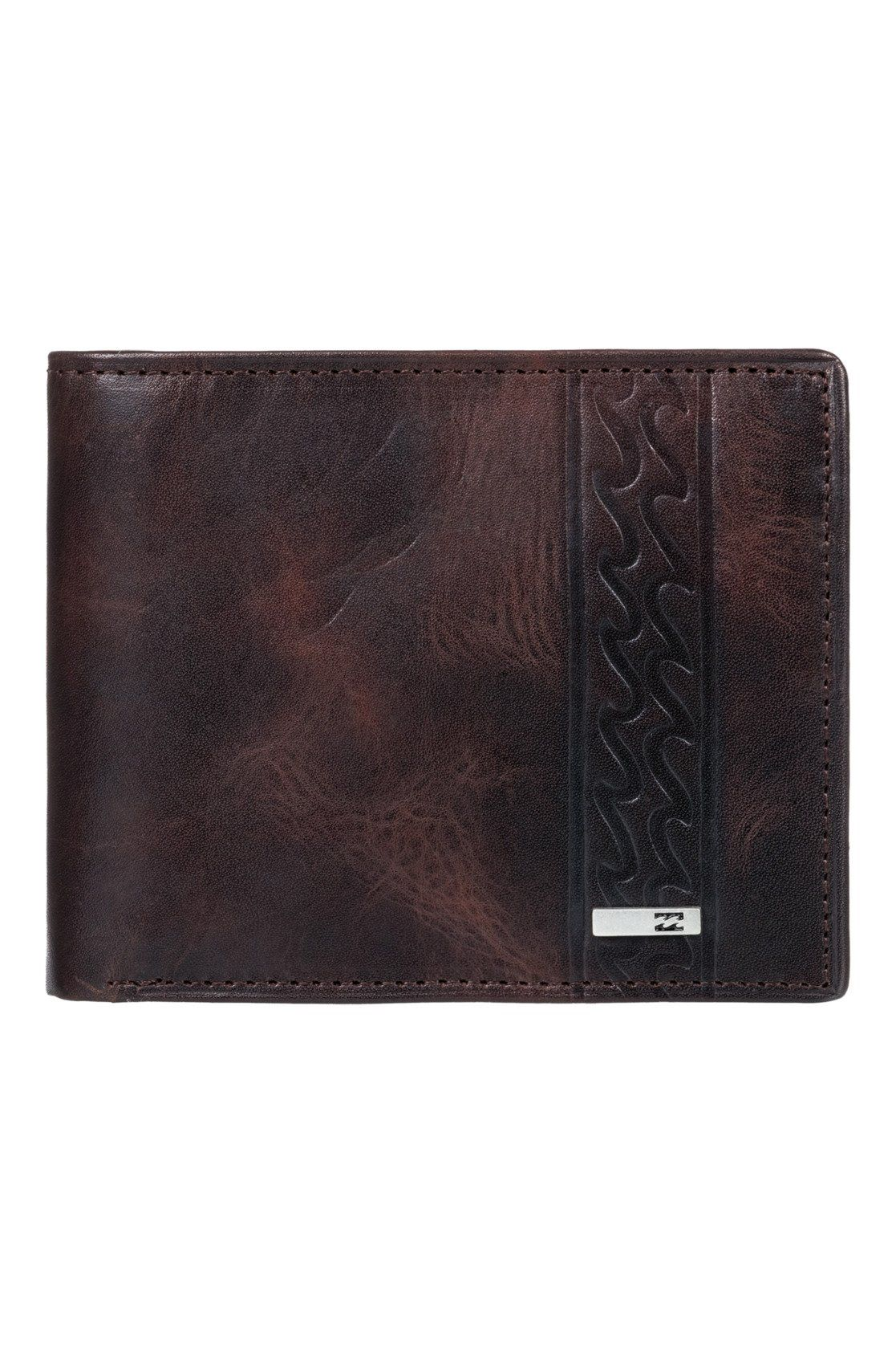 Billabong Leather Wallet DBAH LEATHER Chocolate