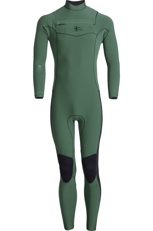 Billabong Wetsuit 302 REVO PRO FACTORY PUKAS Bistro Green