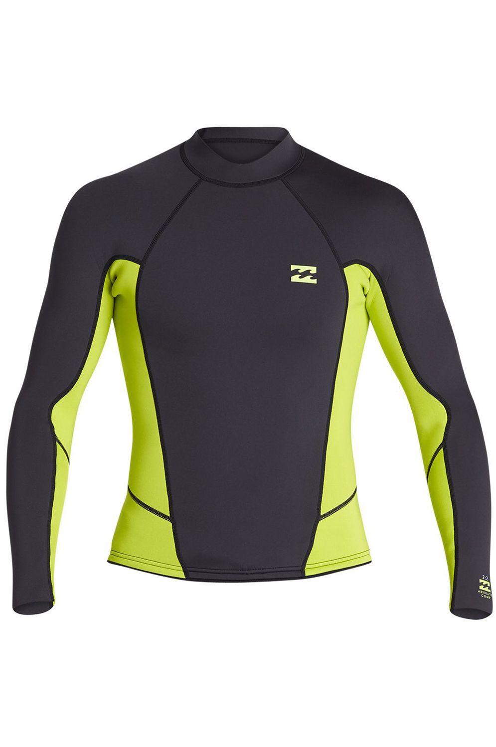 Billabong Wetsuit 202 ABSOLUTE COMP LS Lime
