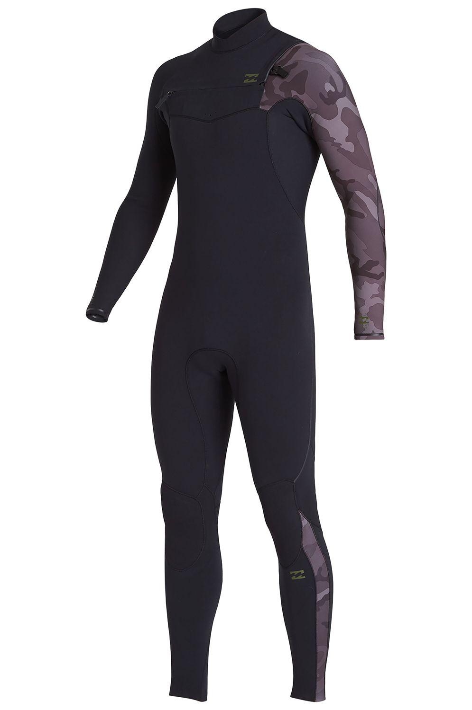 Billabong Wetsuit 302 FURN COMP CZ GBS Black Camo