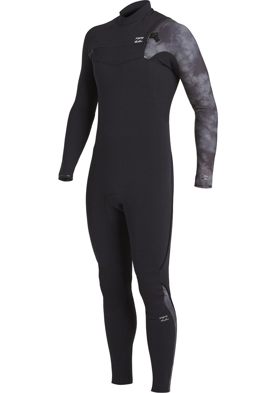 Billabong Wetsuit 403 FURN COMP CZ GBS Black Tie Dye